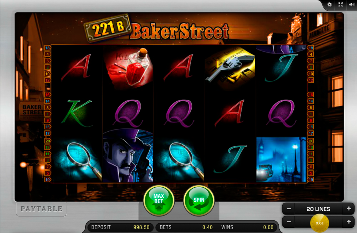 Baker Street™ Slot Machine Game to Play Free in Playtechs Online Casinos