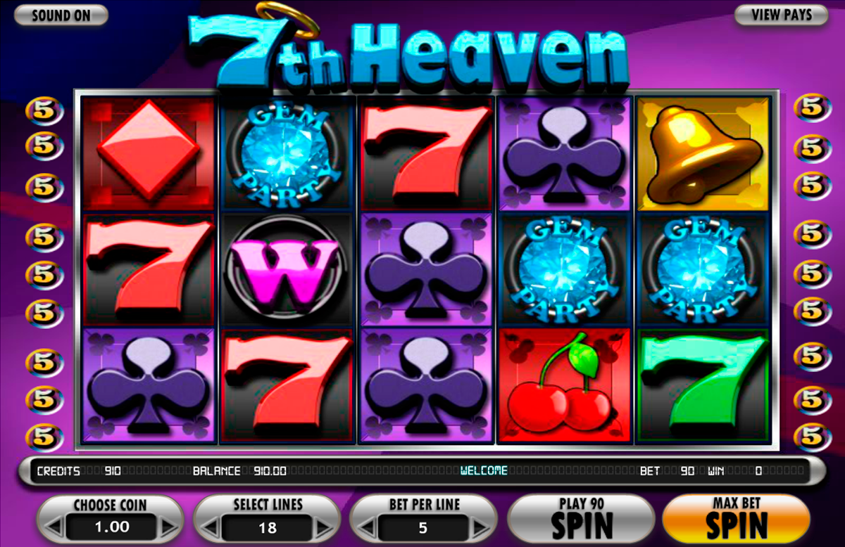 7th heaven betsoft online slots