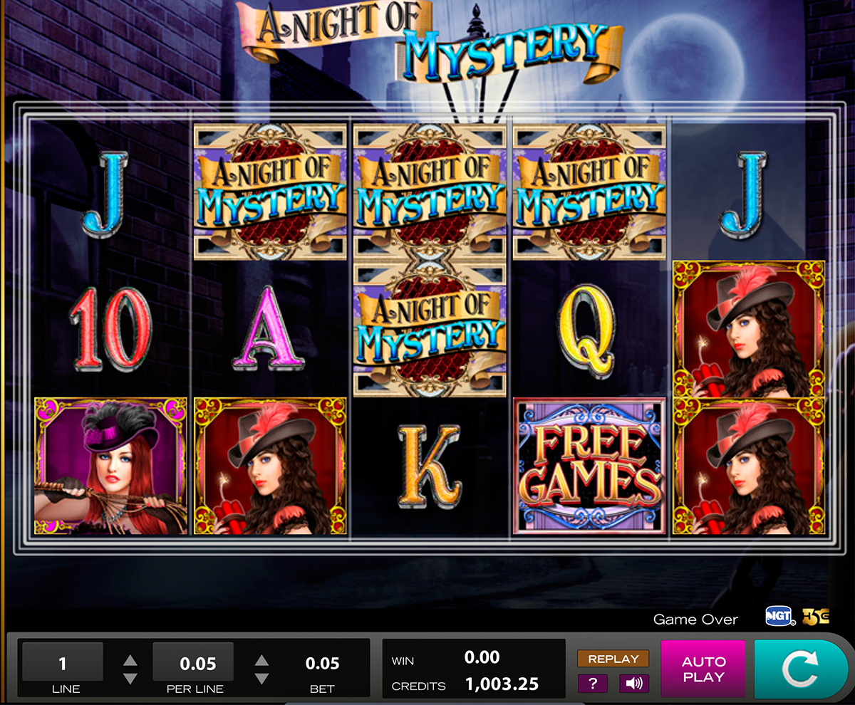 a night of mystery high5 online slots