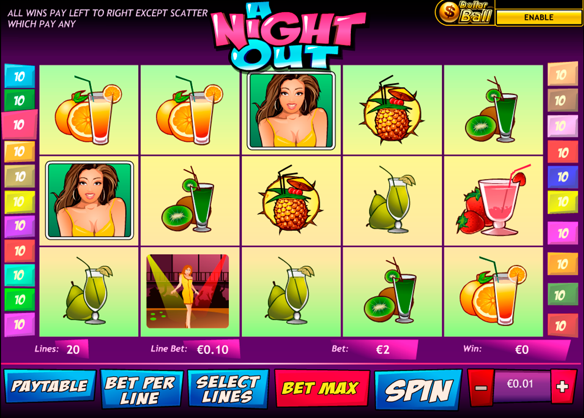a night out playtech online slots