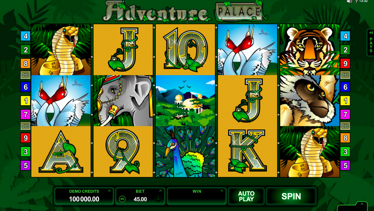 adventure palace microgaming online slots