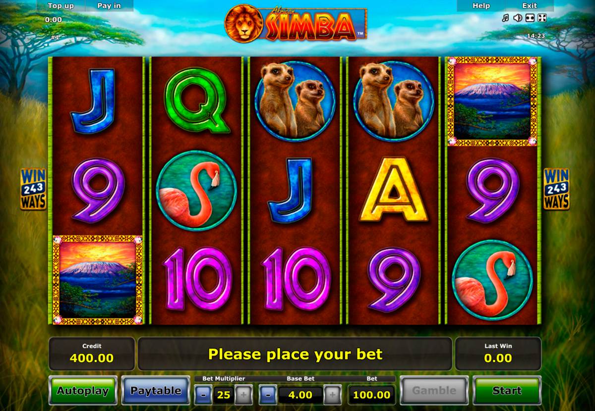 African Simba slot - a winning safari at Casumo
