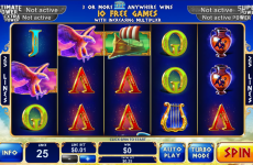 age of the gods king of olympus playtech online slots