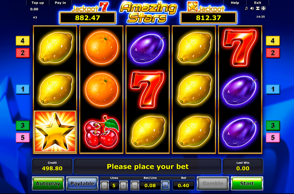 Great Stars Slot Machine - Play the Free Casino Game Online