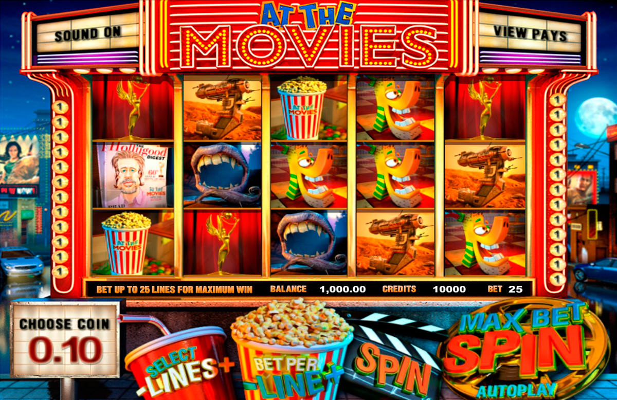 at the movies betsoft online slots