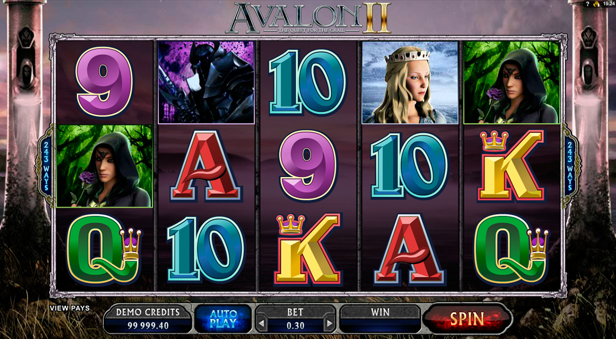 avalon ii microgaming online slots
