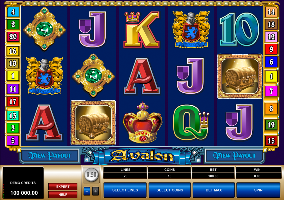 avalon microgaming online slots