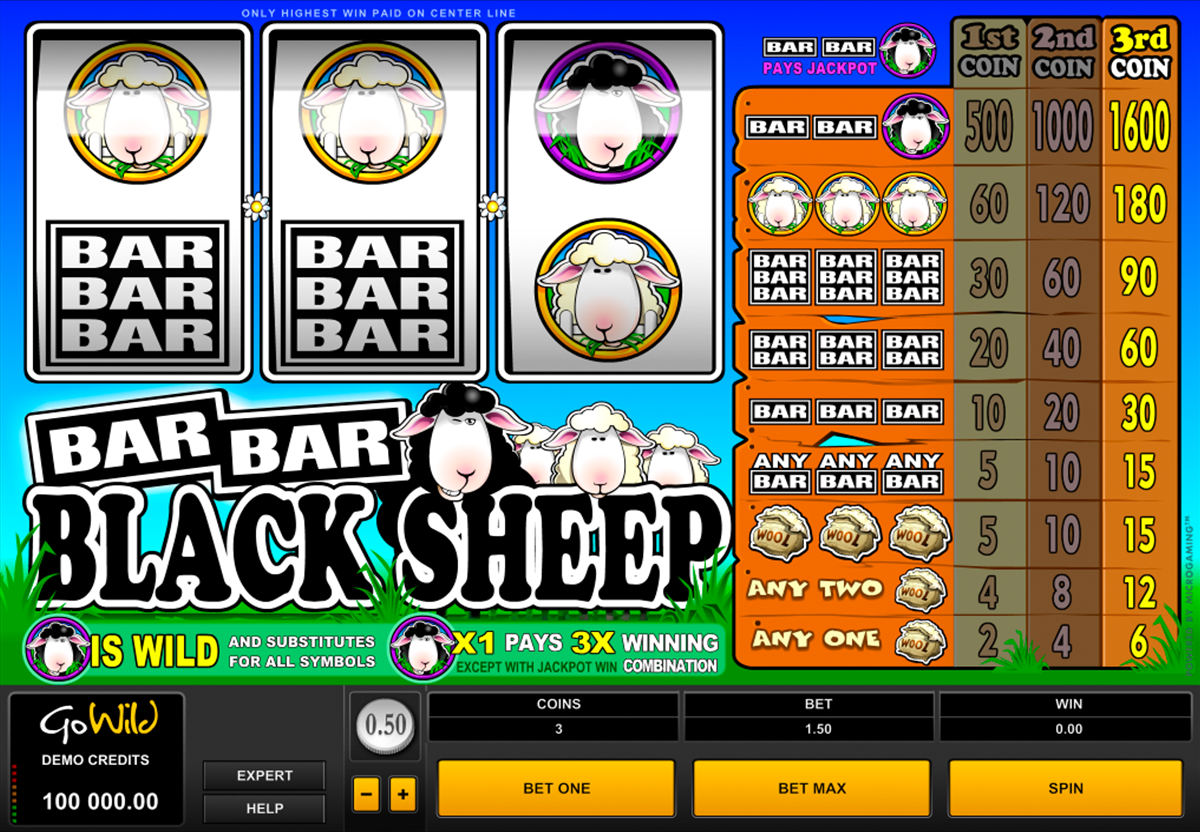 barbarblack sheep microgaming online slots