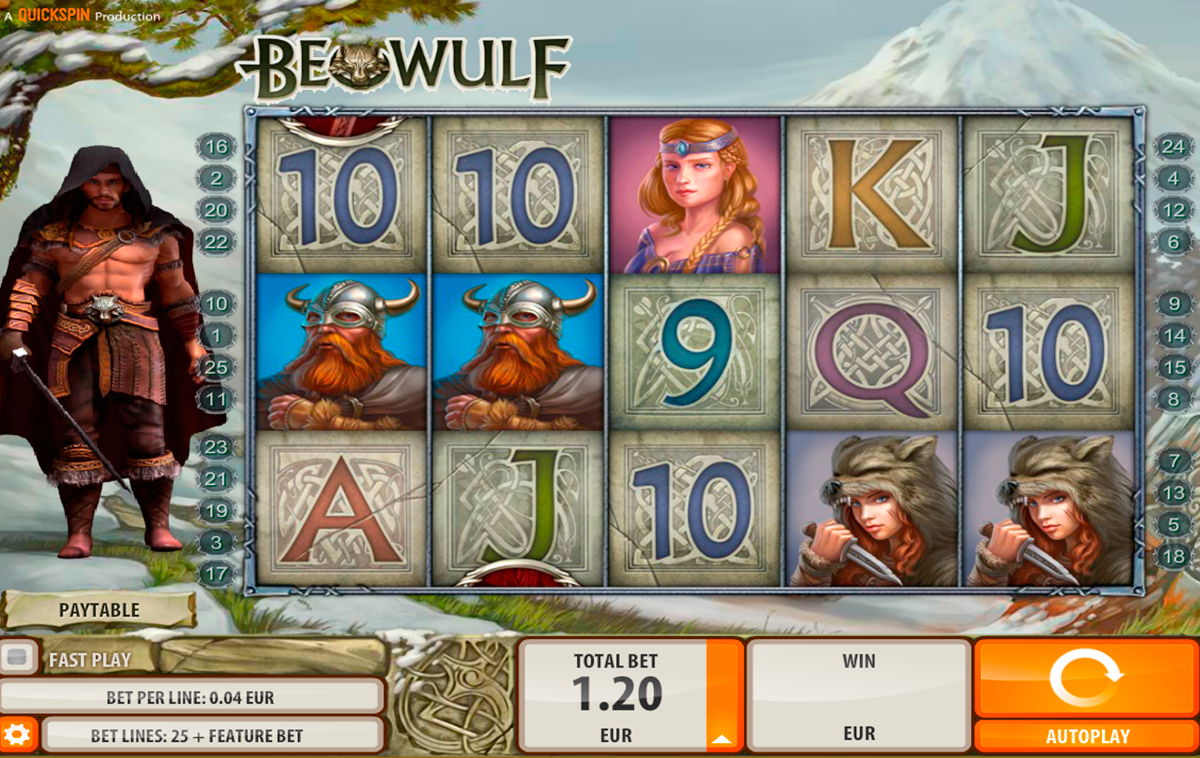 beowulf quickspin online slots