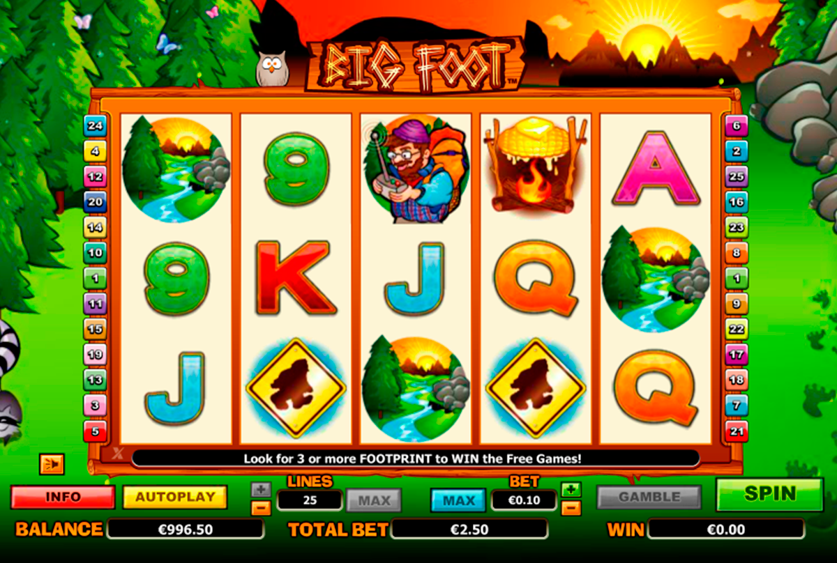 big foot nextgen gaming online slots