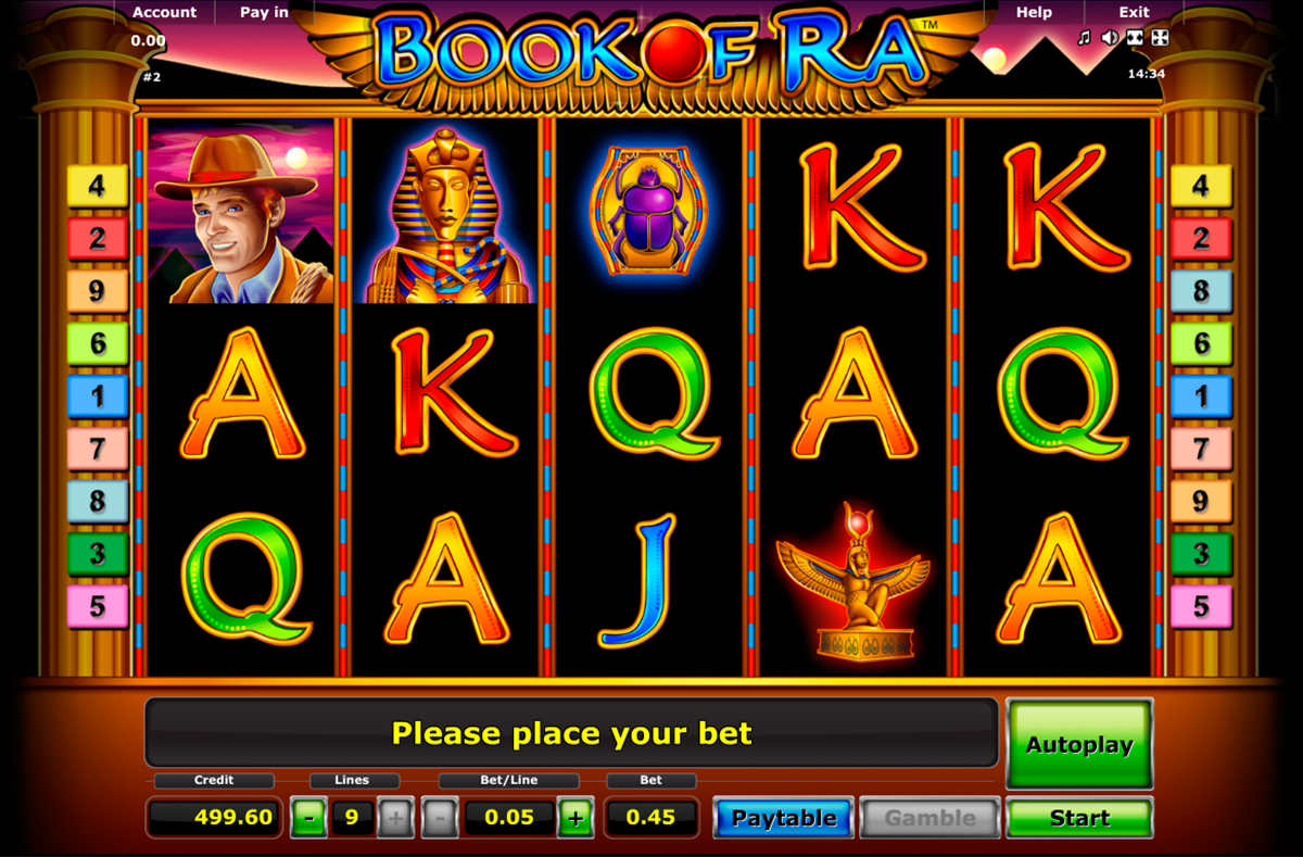 book of ra novomatic online slots