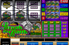 break da bank microgaming online slots