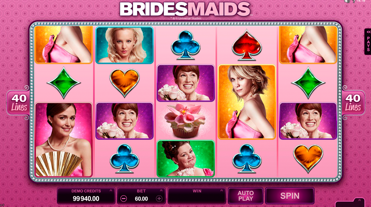 bridesmaids microgaming online slots