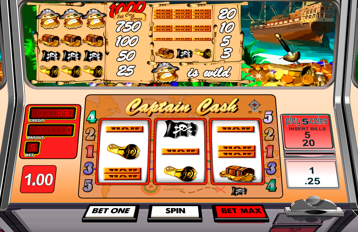 captain cash betsoft online slots