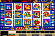 cashsplash video slot microgaming online slots