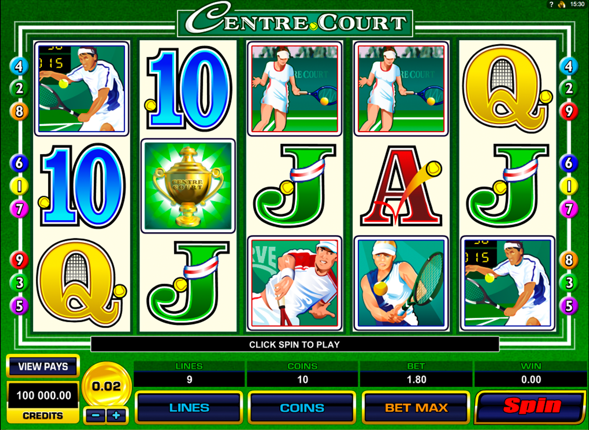 centre court microgaming online slots