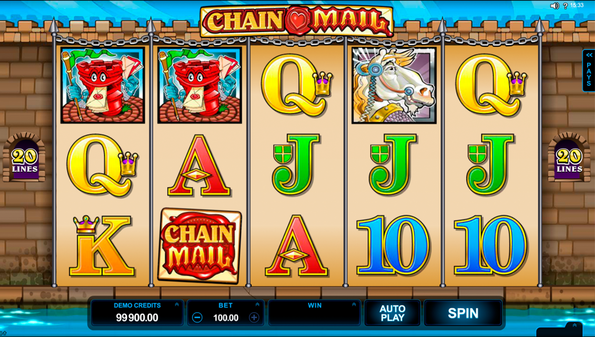 Chain Mail online slot | Euro Palace Casino Blog