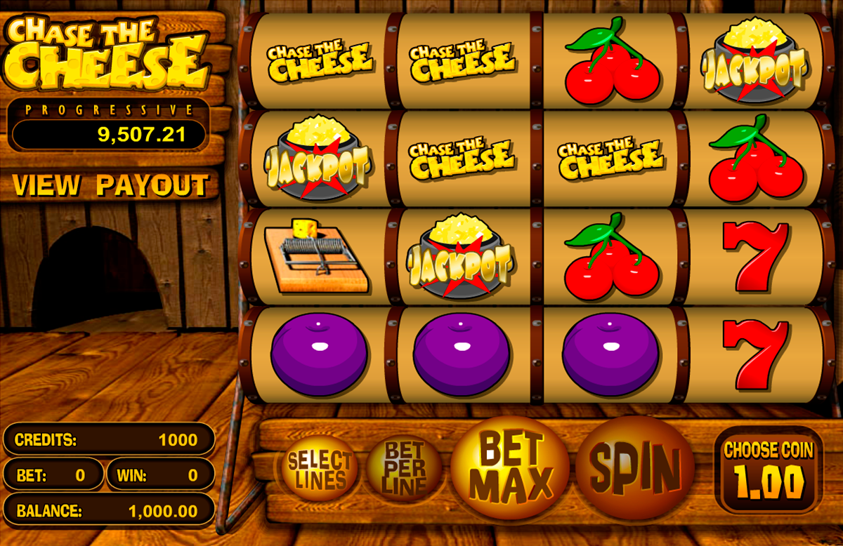 chase the cheese betsoft online slots