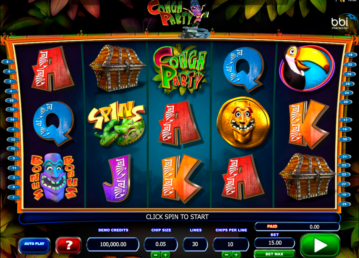 Party Island™ Slot Machine Game to Play Free in Microgamings Online Casinos