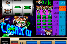 cosmic cat microgaming online slots