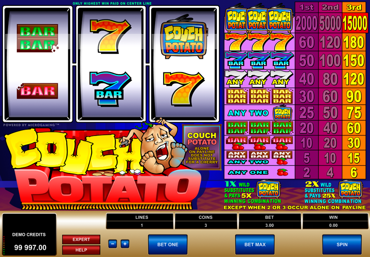 Couch Potato Slot Machine - Play Online for Free Now