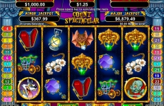 count spectacular rtg online slots