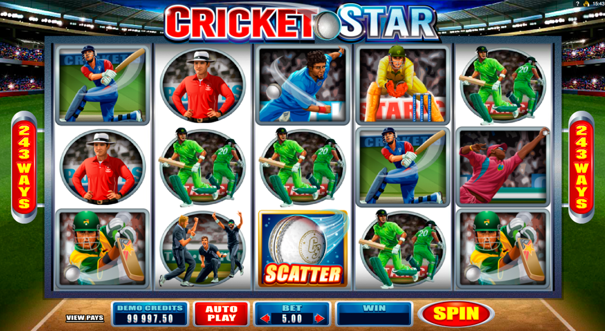 cricket star microgaming online slots