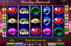 dazzling diamonds novomatic online slots