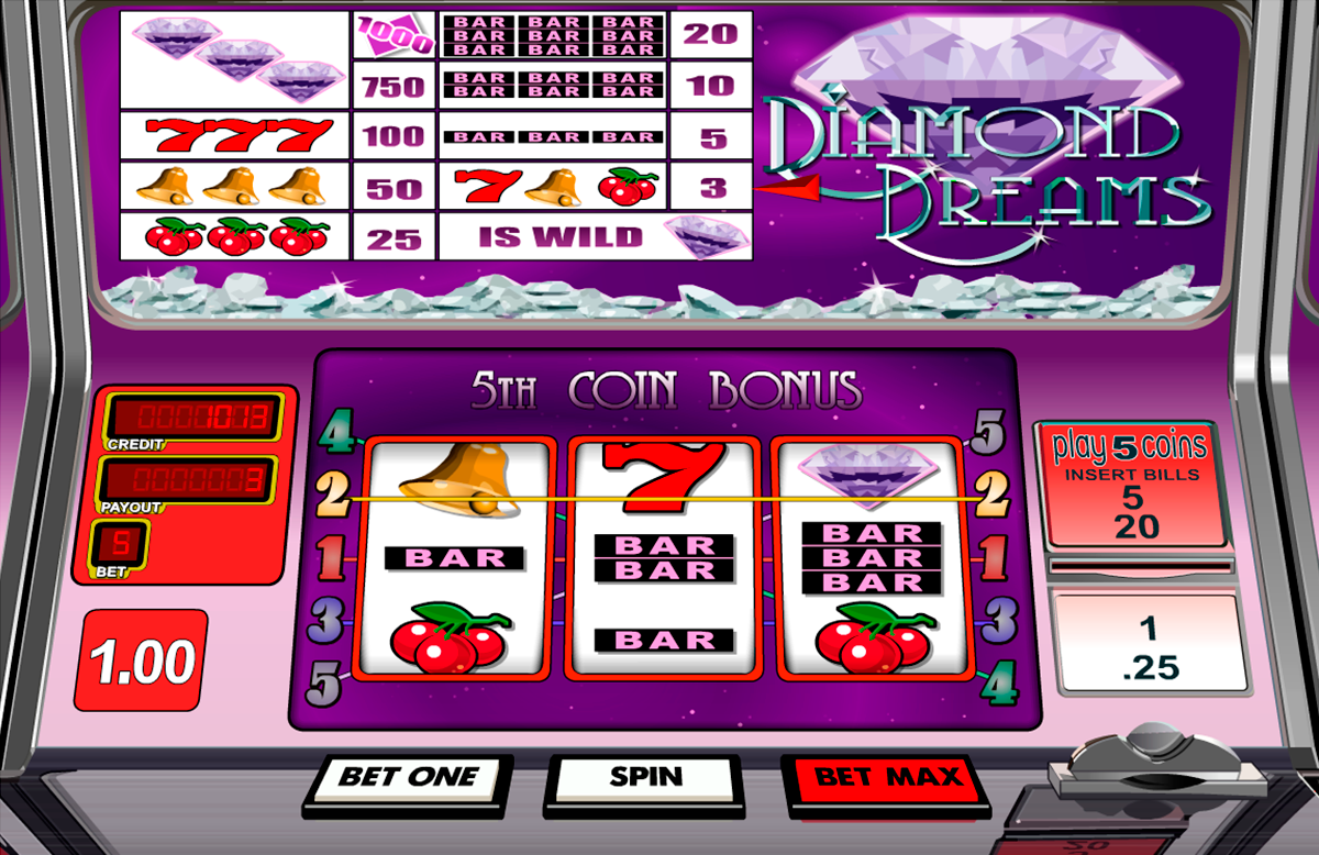 diamond dreams betsoft online slots
