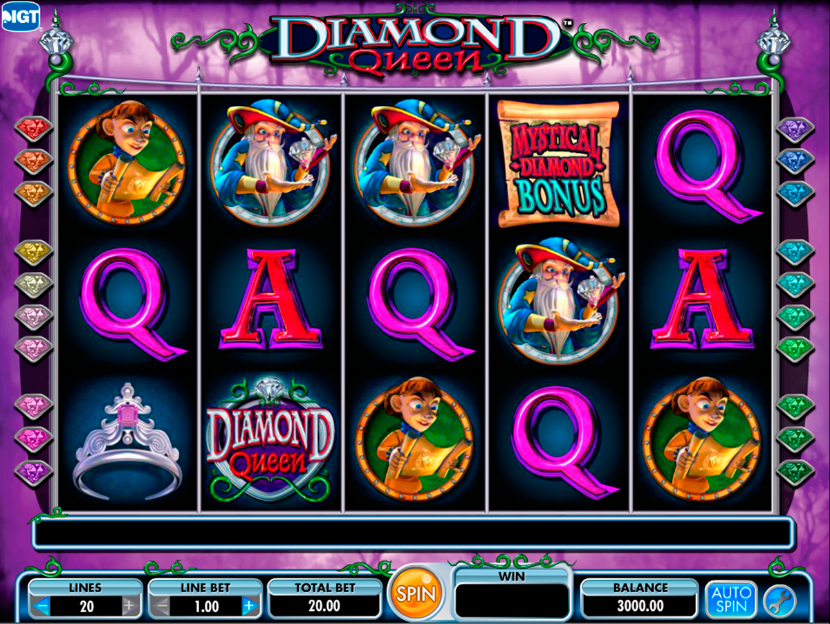 diamond queen igt online slots