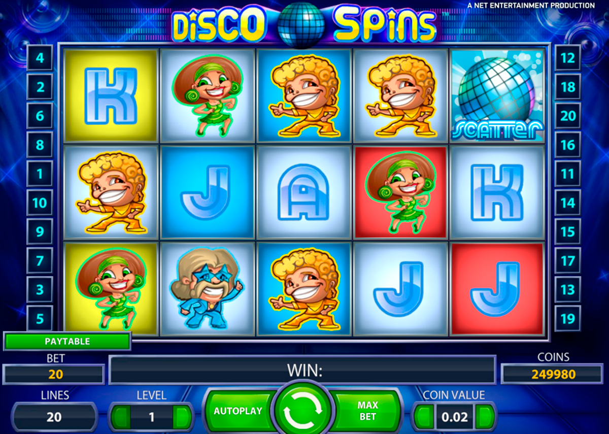 Disco Spins - gratis Disco slot online