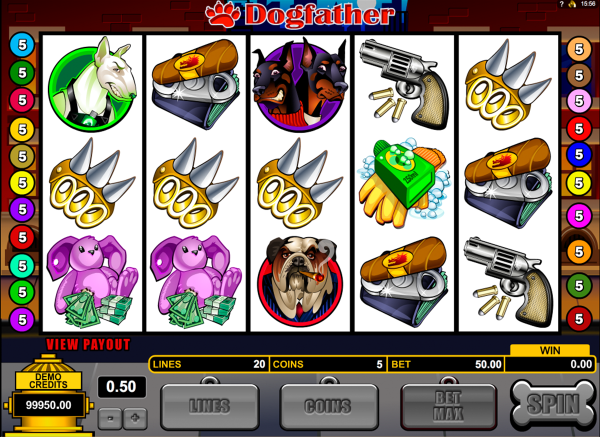 dogfather microgaming online slots