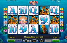 dolphins pearl novomatic online slots