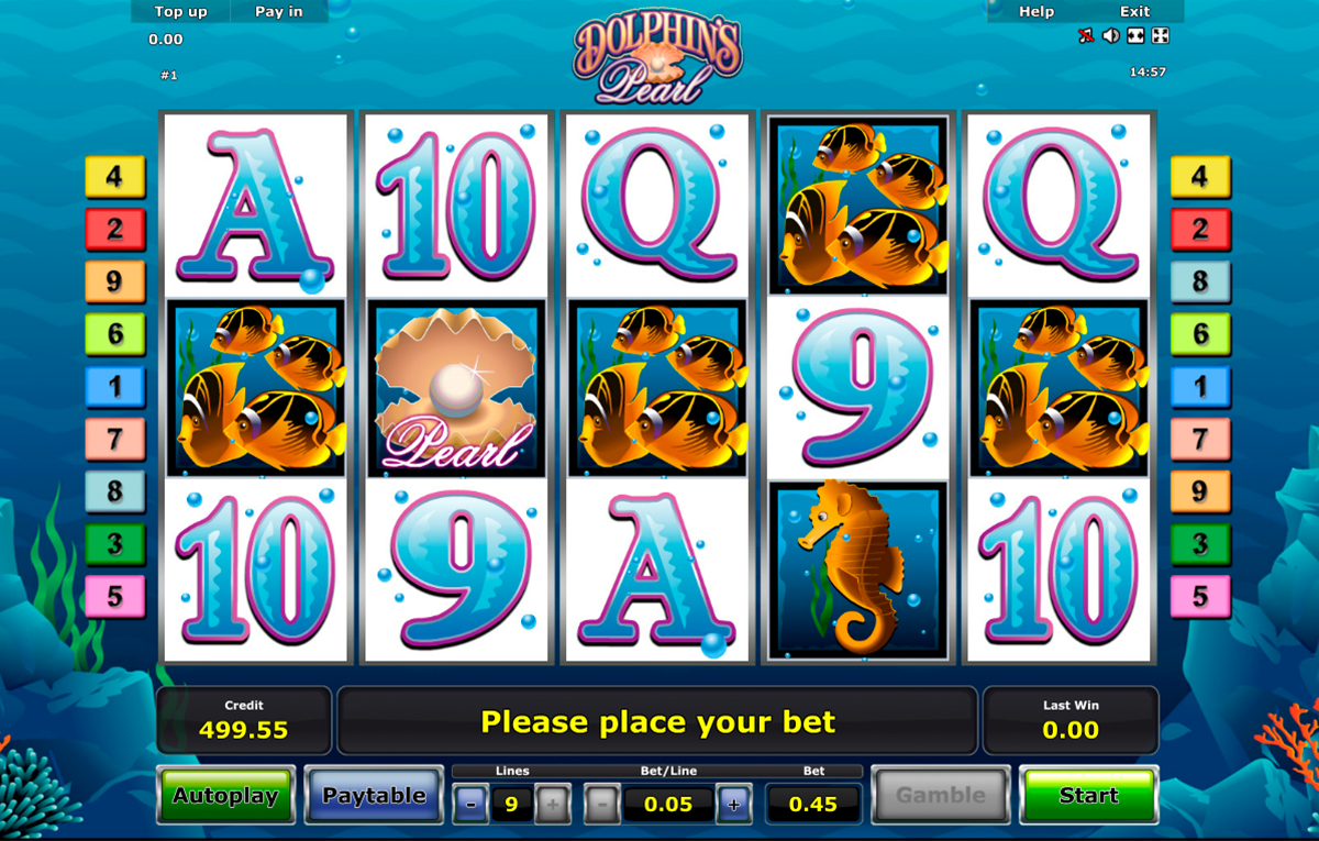 Blue Dolphin™ Slot Machine Game to Play Free in Amatics Online Casinos