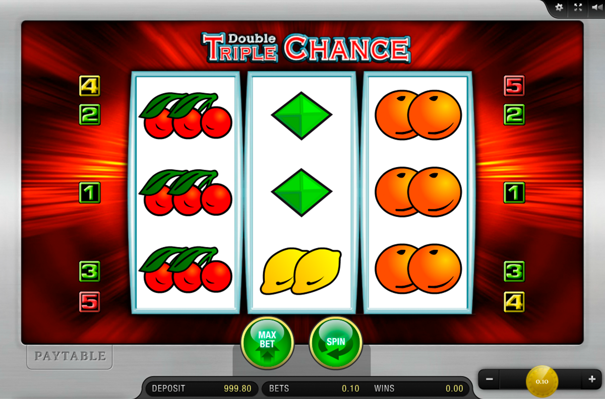 Double Triple Chance Casino Slot – Merkur Online Slots – Rizk Casino