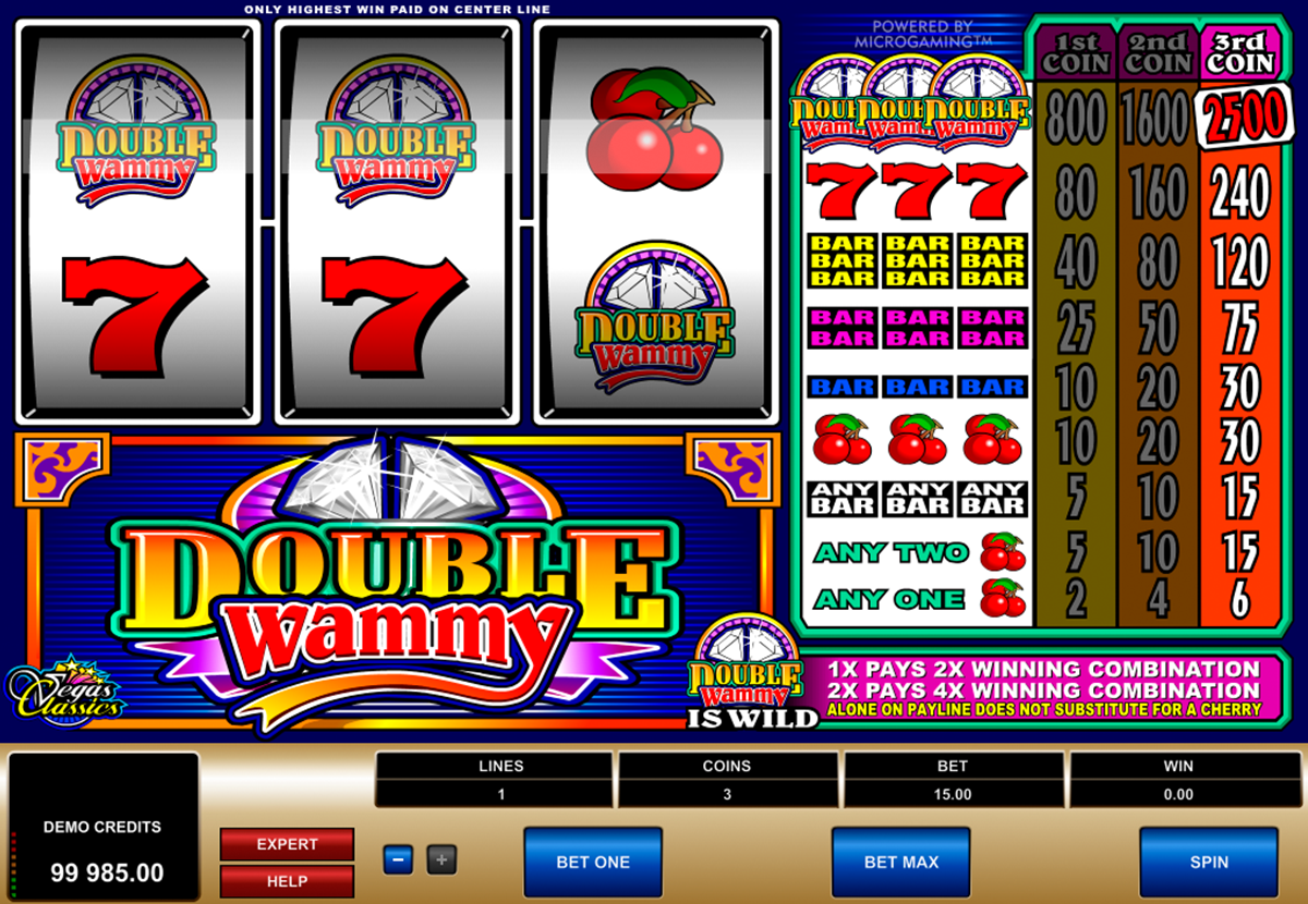 double wammy microgaming online slots
