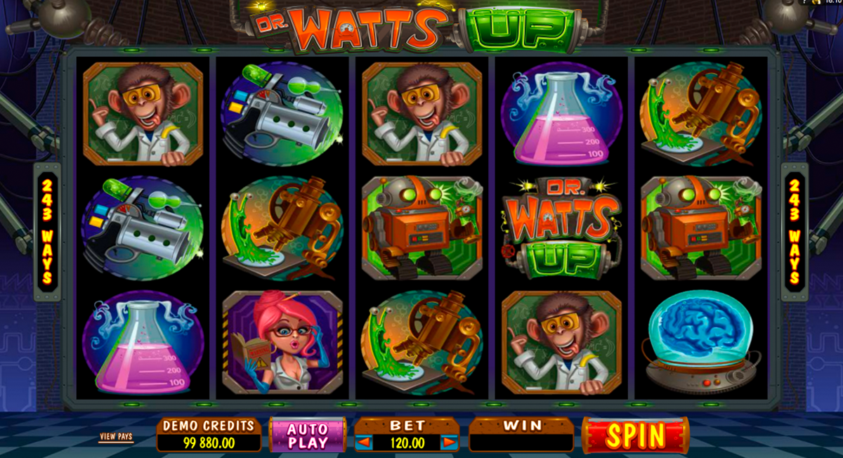 dr watts up microgaming online slots