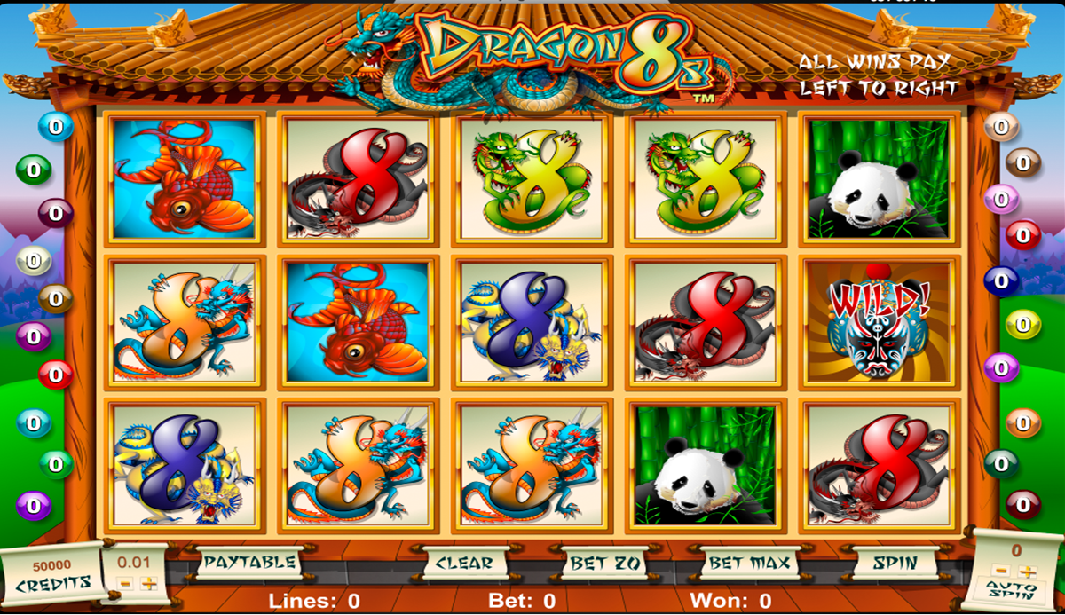 8 dragons slot machine