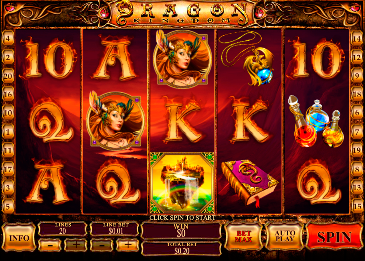 dragon kingdom playtech online slots