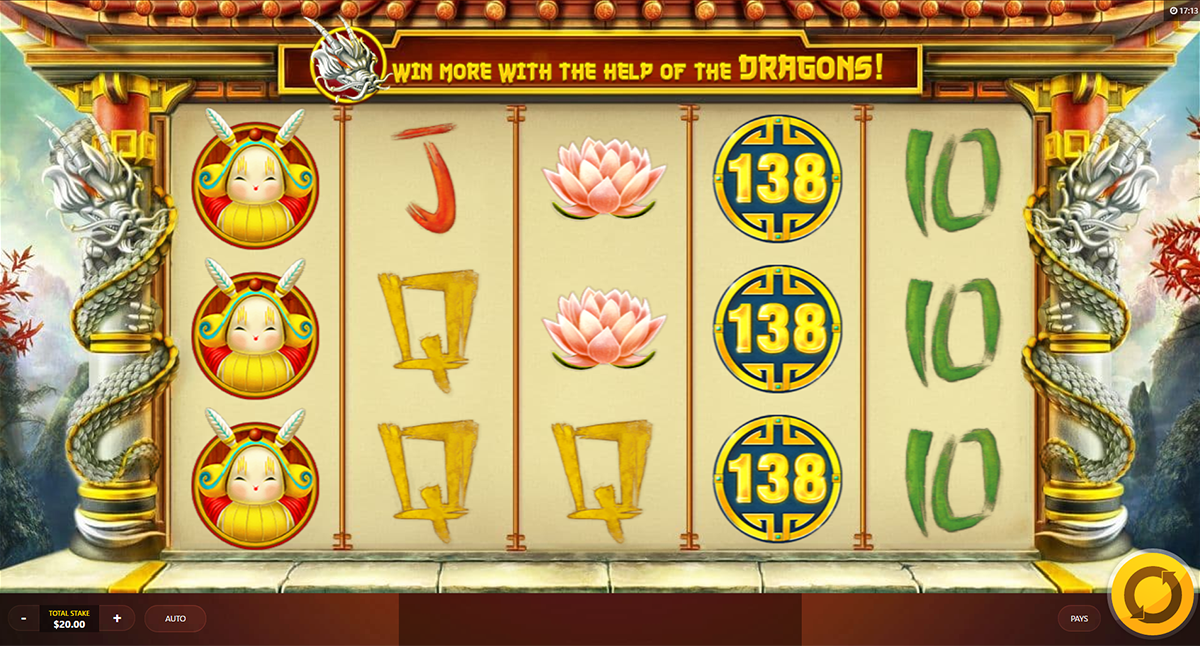 dragons luck red tiger online slots