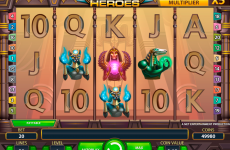 egyptian heroes netent online slots