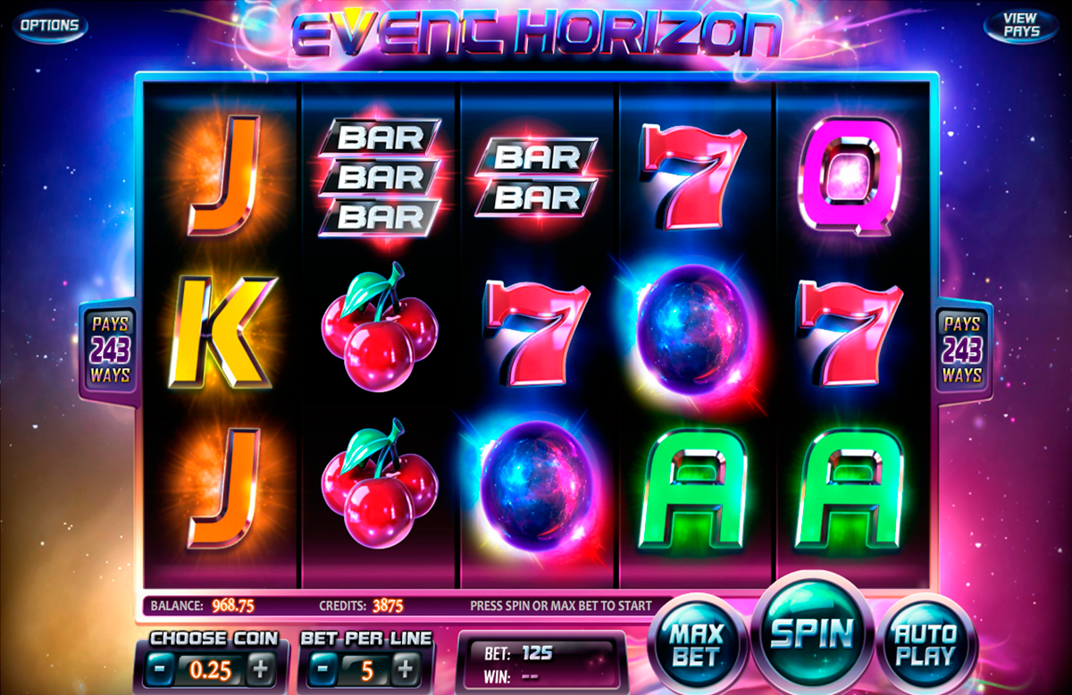 event horizon betsoft online slots