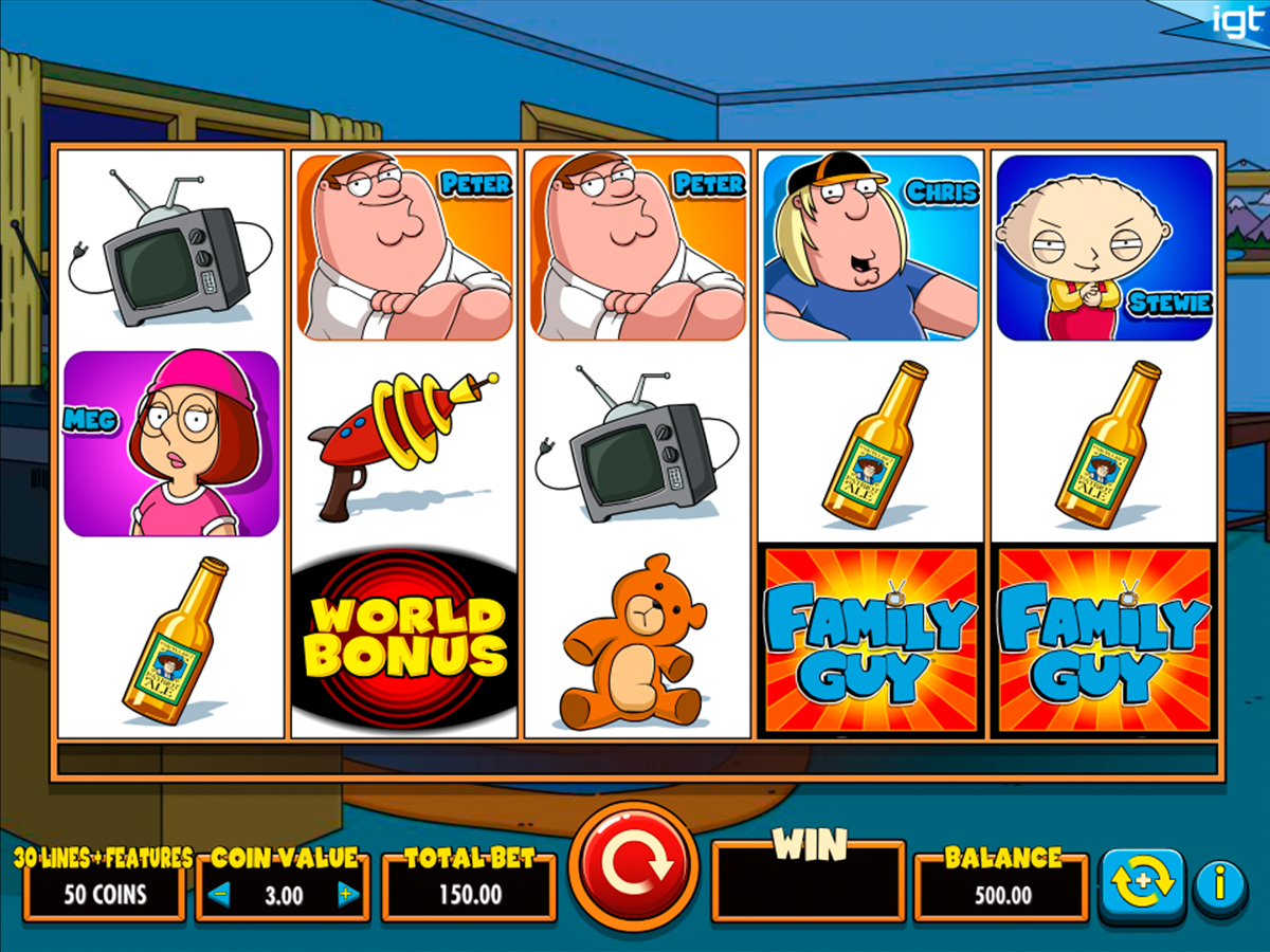 family guy igt online slots