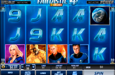 fantastic four 50 lines playtech online slots