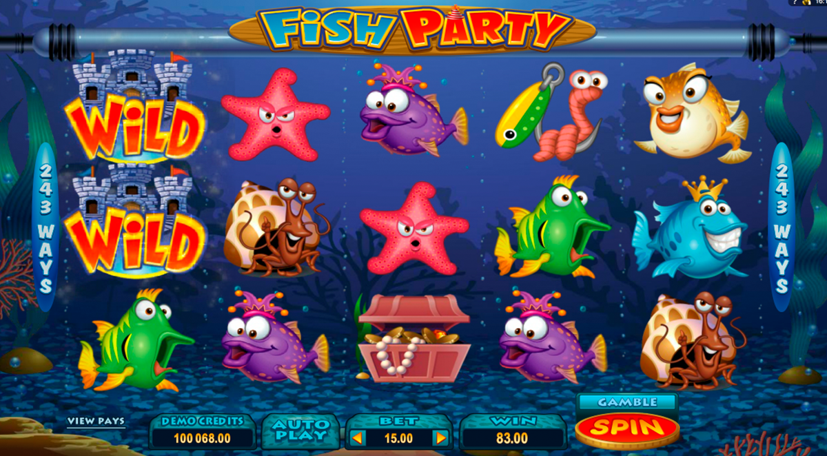 fish party microgaming online slots