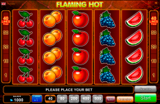 flaming hot egt online slots