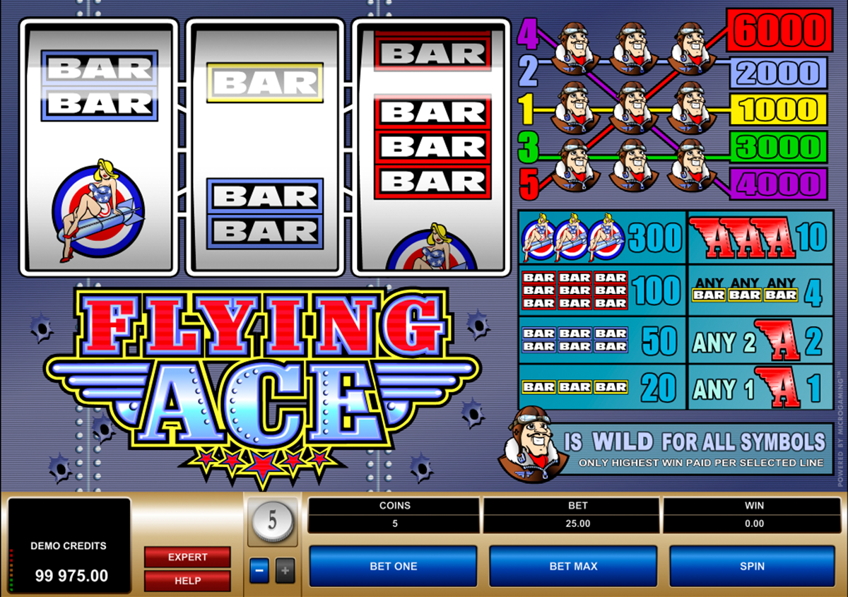 flying ace microgaming online slots