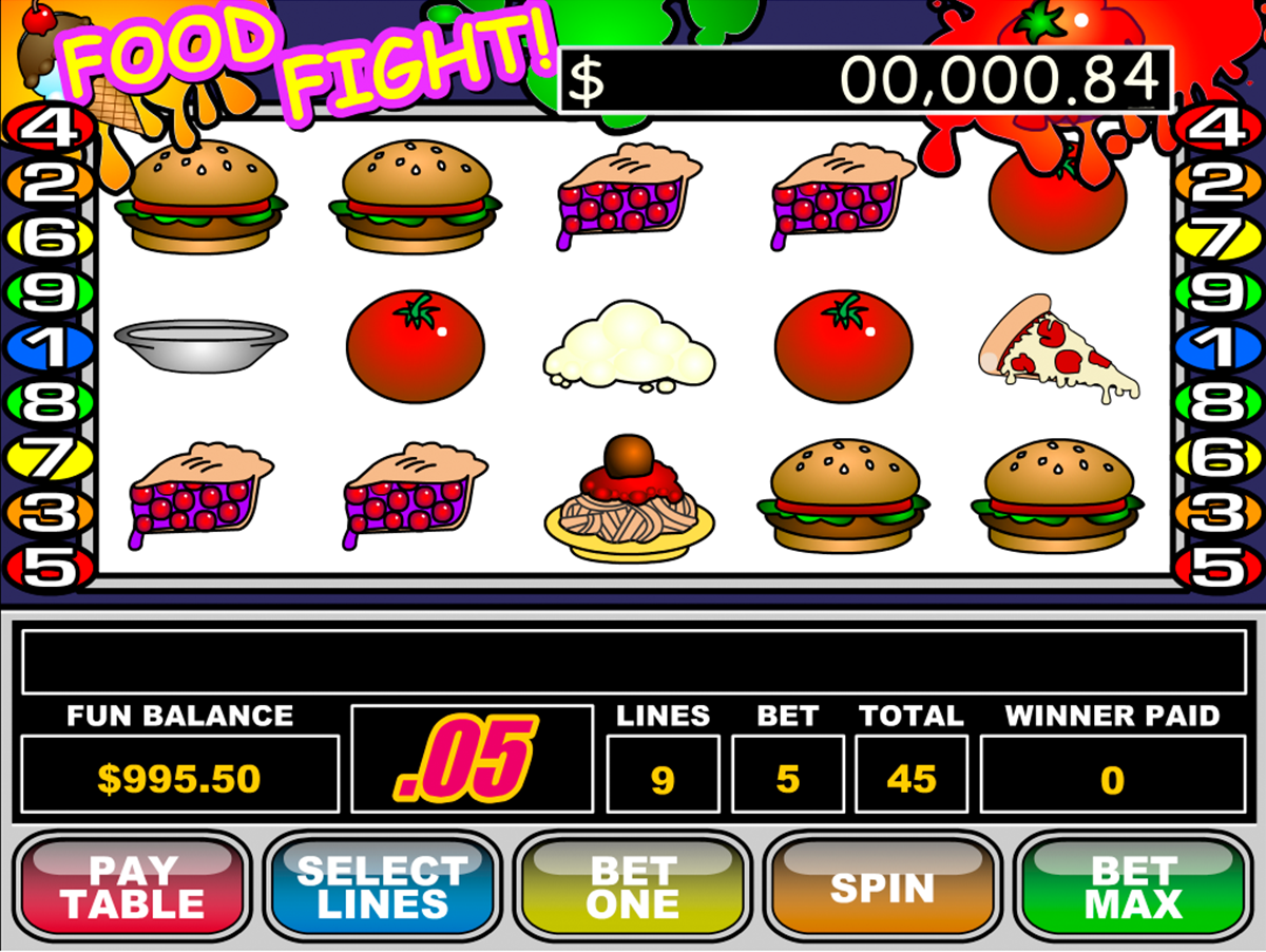 food fight rtg online slots