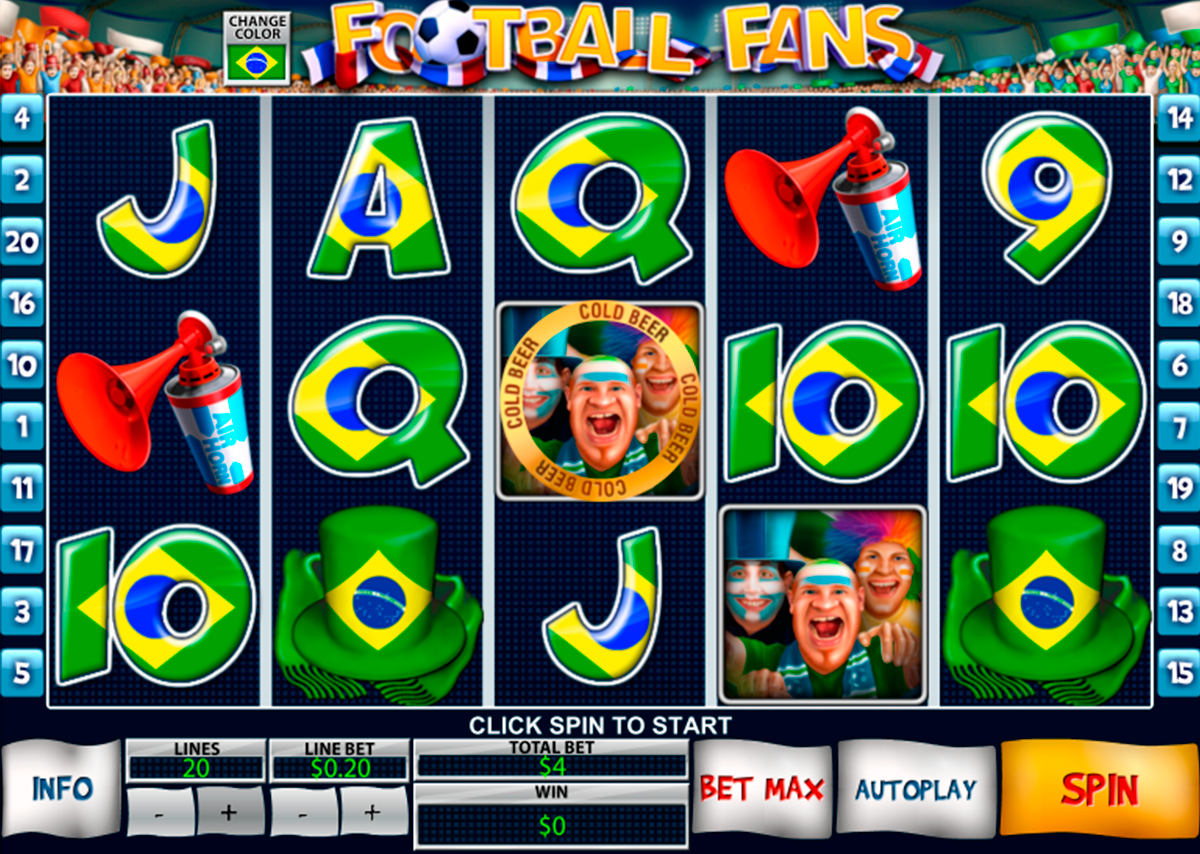 football fans playtech online slots