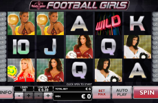 football girls playtech online slots